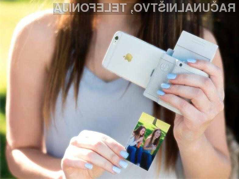 Tiskanje fotografij, zajetih z mobilnim telefonom, še nikoli ni bilo enostavnejši.