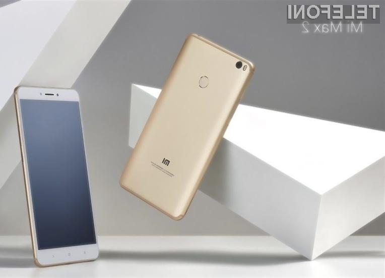 Xiaomi Mi Max 2 nas nikoli ne bo pustil na cedilu!