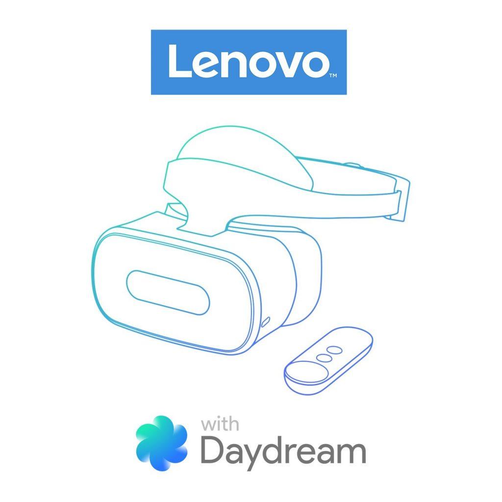 Lenovo in Google sodelujeta pri pripravi očal za navidezno resničnost (VR) Daydream