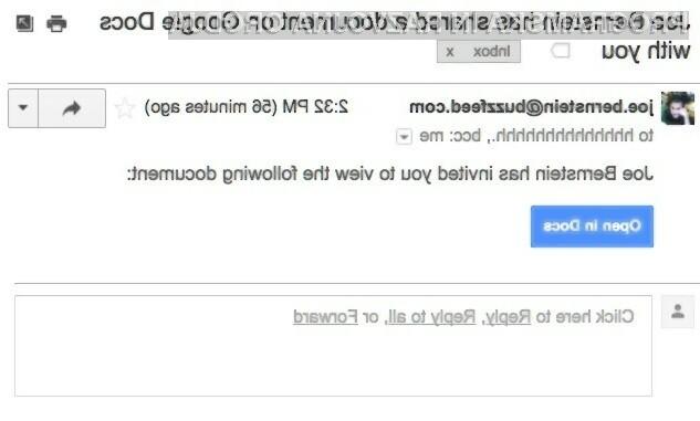 Pazite na Google Doc povezave v e-pošti, lahko gre za virus!