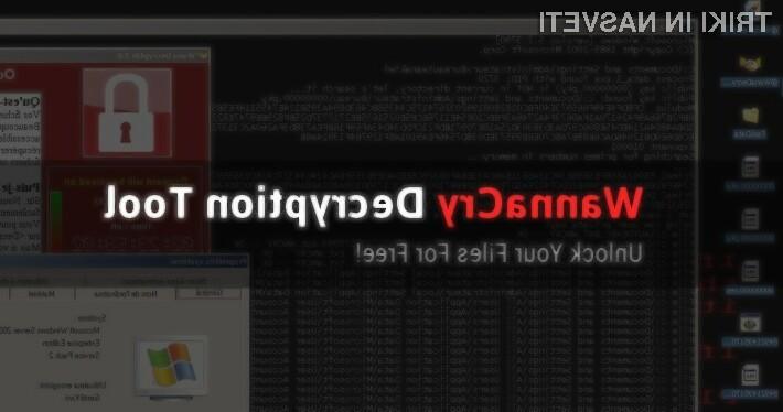 Kako brezplačno odkleniti datoteke, ki vam jih je zašifriral WannaCry?
