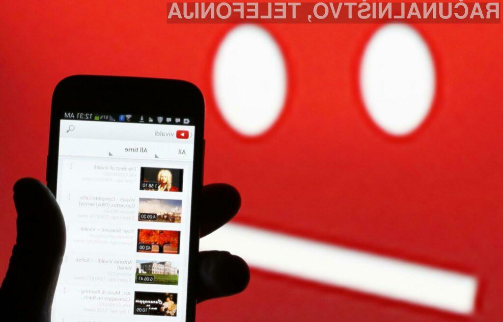 Na spletni portal YouTube prisega kar 1,5 milijarde aktivnih uporabnikov.