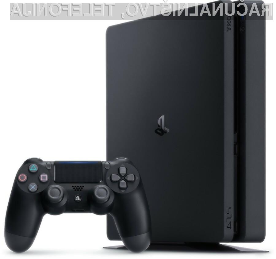PlayStation 4 je lahko v vaši dnevni sobi že z nekaj kliki!