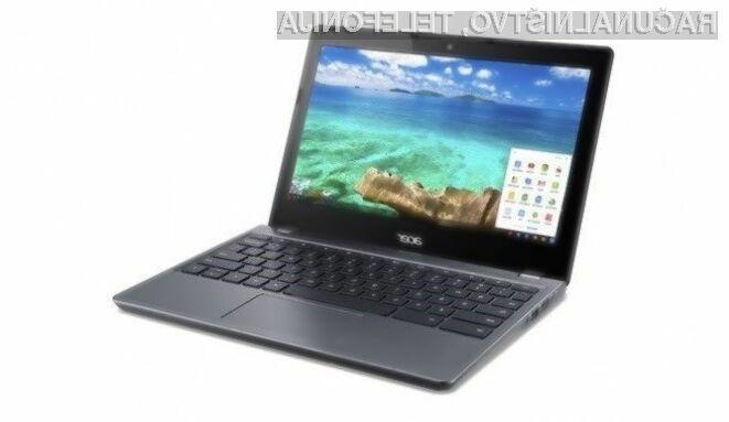 Prenosnik Acer Chromebook 11 bo zlahka kos tudi najzahtevnejšim opravilom!