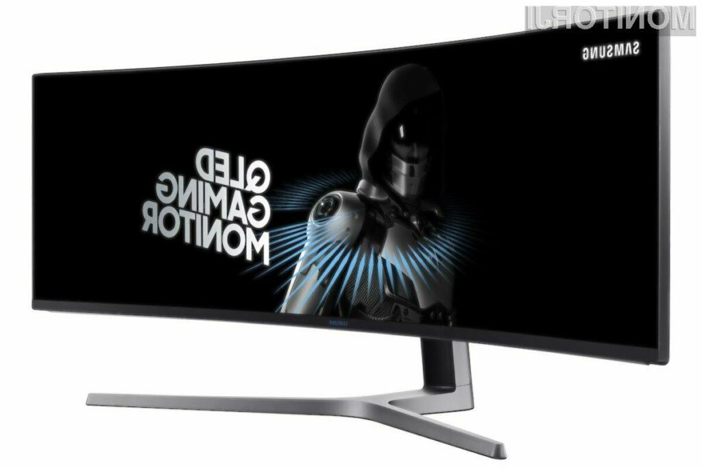 Samsung predstavil najširši računalniški monitor