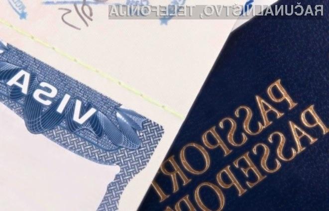 Za pridobitev ameriške vize bo treba izdati podatke o družbenih omrežjih