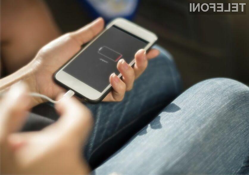 Telefoni se bodo polnili še hitreje
