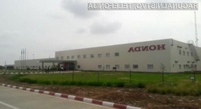 Zaradi okužbe s škodljivo kodo WannaCry je bila tovarna podjetja Honda zaprta več dni,