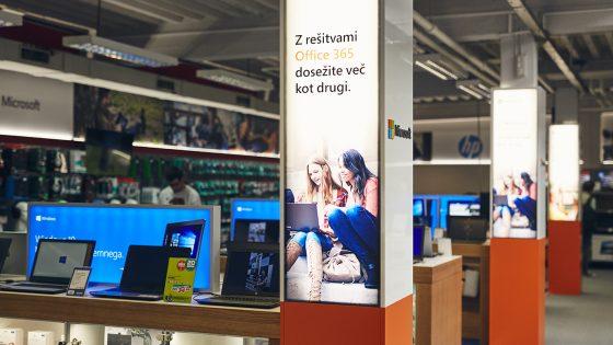 Prva Windows cona v Sloveniji ponuja najnovejše vrhunske tehnologije.