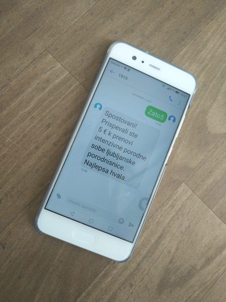 SMS, ki pripelje do dobrega