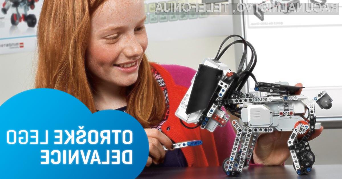 Tečaj robotike z LEGO Education WeDo – IZKLICNA CENA 1 €!