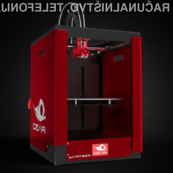 Popoln 3D tiskalnik