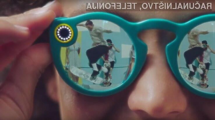 Snap razvija drugo generacijo očal Spectacles