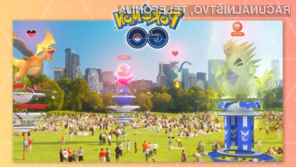 Pokemon Go pred največjo posodobitvijo do zdaj