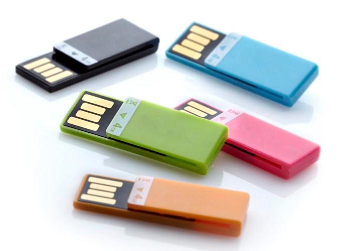 V zadnjih letih so tržišče preplavili UDP USB ključki, kjer je spomin skupaj z vsemi podpornimi funkcijami 'stisnjen' v mnogo manjšo preobleko.