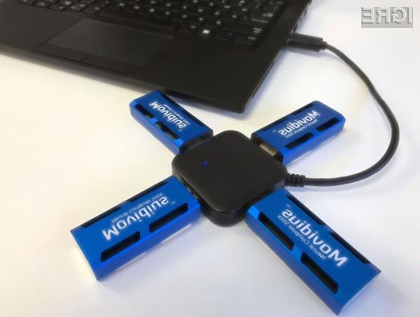 Intel Movidius nudi računsko moč v višini 100 gigaflopov, poraba električne energije pa je manj kot en vat.