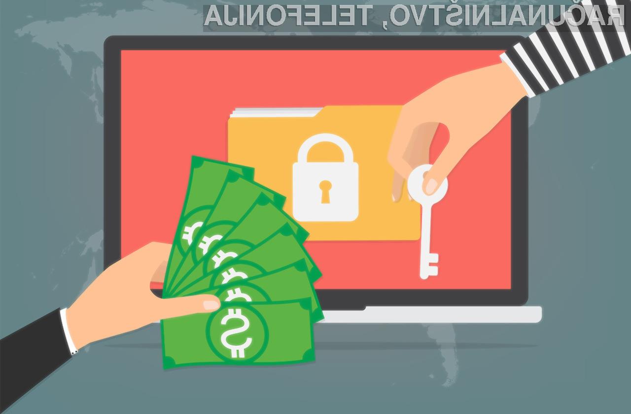 Spletni kriminalci so s škodljivimi programskimi kodami doslej zaslužili okoli preračunanih 22 milijonov evrov.