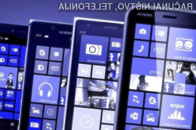 Microsoft zagotavlja podporo le še za mobilni operacijski sistem Windows 10 Mobile.