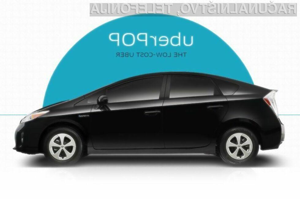 Storitve Uber POP na evropskih tleh ni več dovoljeno ponujati.