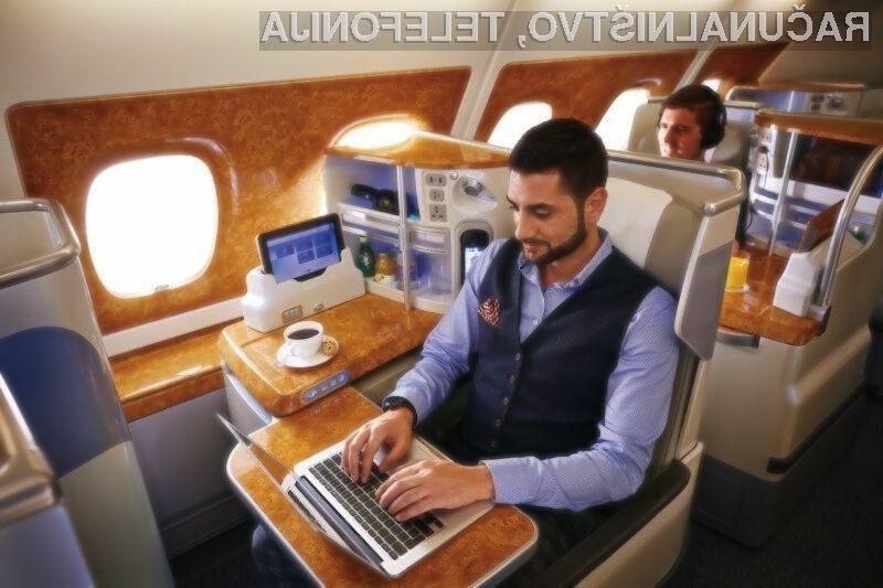 Poostreni varnostni ukrepi so pogoj, da lahko potniki ponovno uporabljajo večje elektronske naprave v potniški kabini.