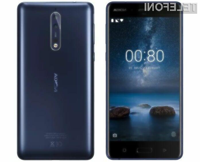 Nokia 8 naj bi kljub starinskemu ohišju prepričala mnoge!