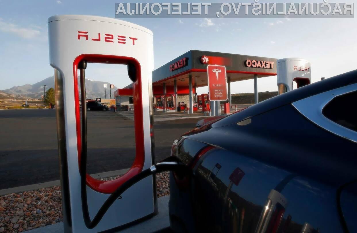 Polnjenje električnih avtomobilov naj bi bilo kmalu primerljivo s klasičnimi avtomobili.