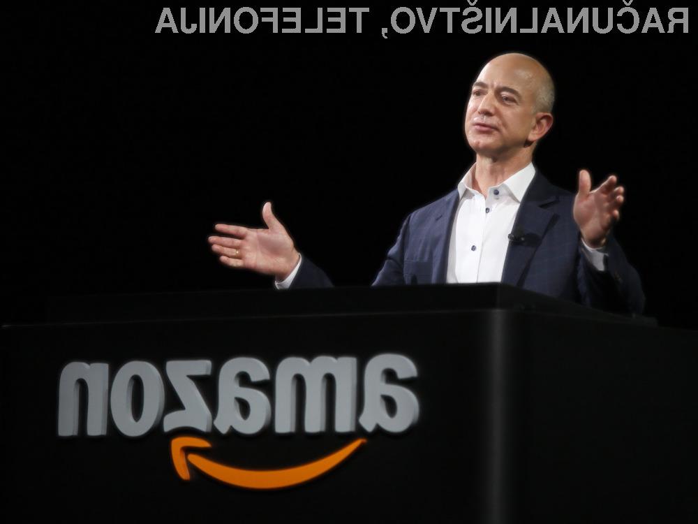 Prvi mož Amazona za trenutek postal najbogatejši človek na svetu