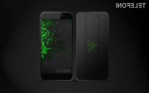 Pametni mobilni telefon Razer bo namenjen najzahtevnejšim igričarjem!