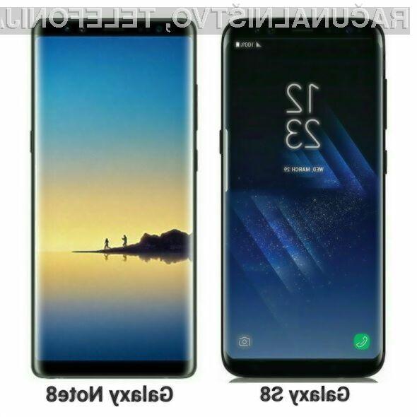 Pametni mobilni telefon Samsung Galaxy Note 8 naj bi se nam zlahka prikupil!