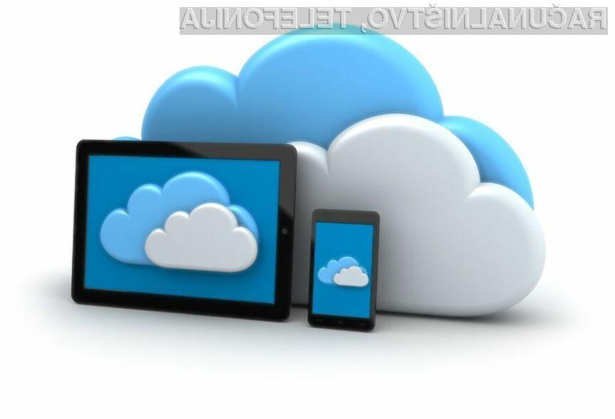 Uporabnikom bo kmalu na voljo še en oblak manj