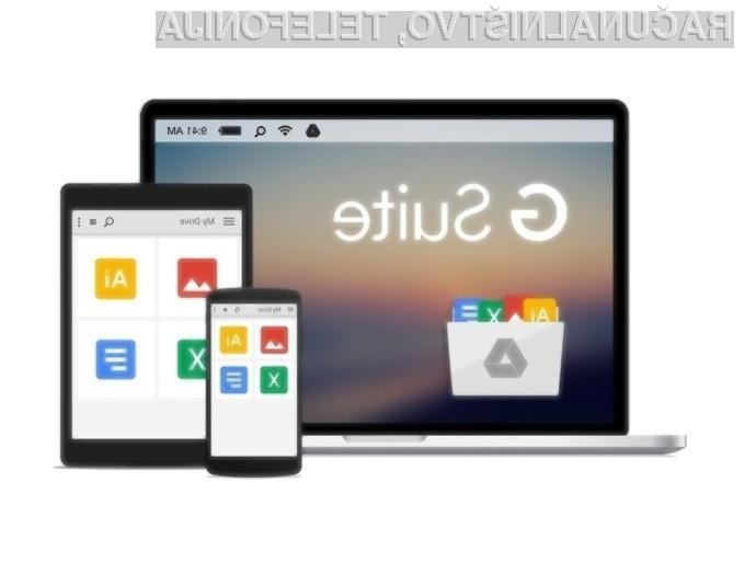 Prenovljeni Google Suite prinaša številne nove možnosti!