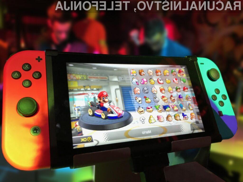 Nintendo Switch se prodaja bolje od konzol PS4 in Xbox One