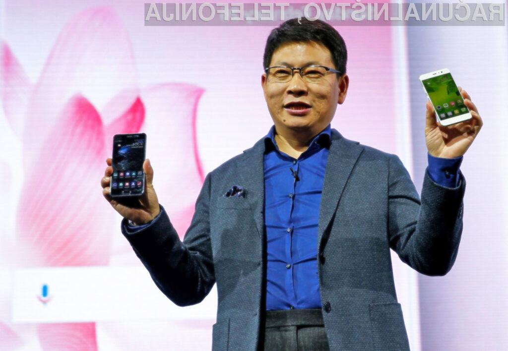 V ZDA bo pametne mobilne telefone Huawei tržilo podjetje AT&T.