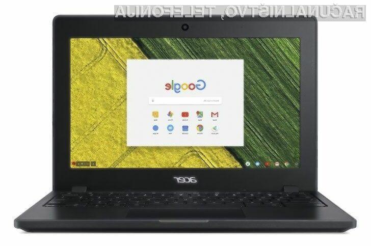 Prenosnik Acer Chromebook 11 za malo denarja ponuja veliko!