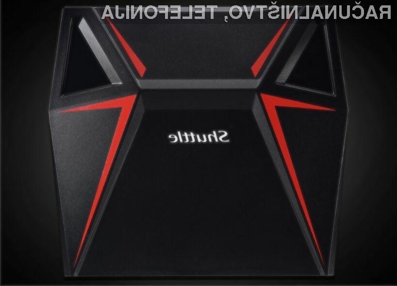 S kompaktnim osebnim računalnikom Shuttle X1 bomo zlahka poganjali tudi najzahtevnejše igre!