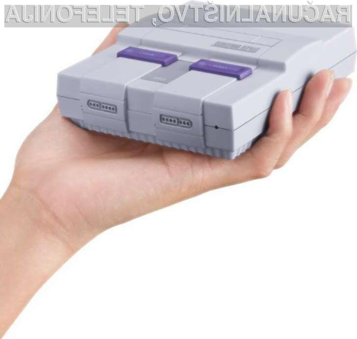 Konzolo Super NES Classic bomo lahko naročili konec avgusta
