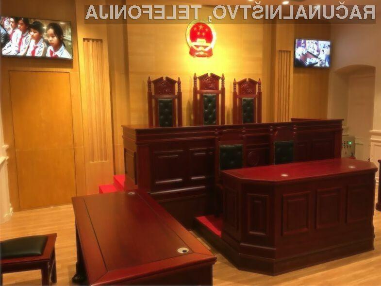 Kitajci bodo sodne zaostanke reševali s pomočjo sodobne tehnologije.