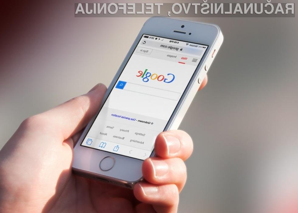 Google izboljšal mobilni iskalnik. Že veste kako?