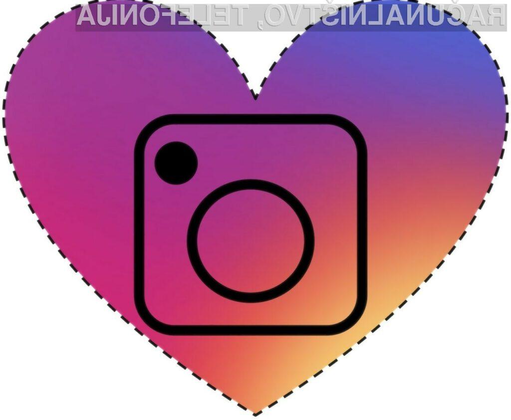 Na Instagramu preživimo več kot pol ure na dan