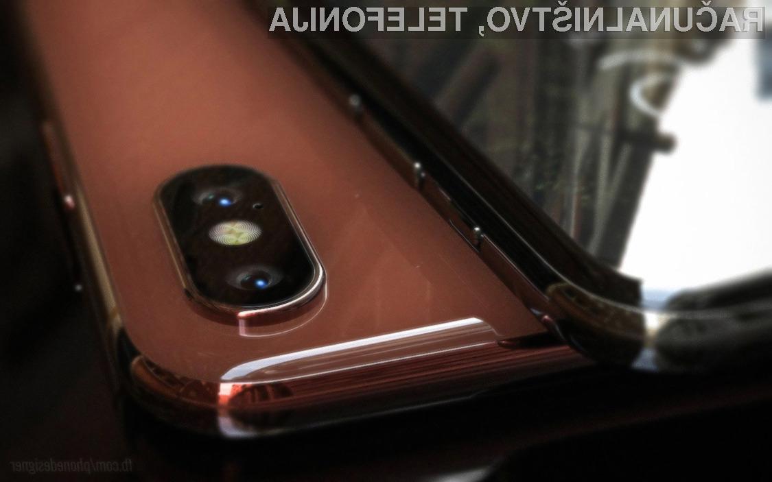 Oblika pametnega mobilnega telefona iPhone 8 naj bi bila nad vso konkurenco.