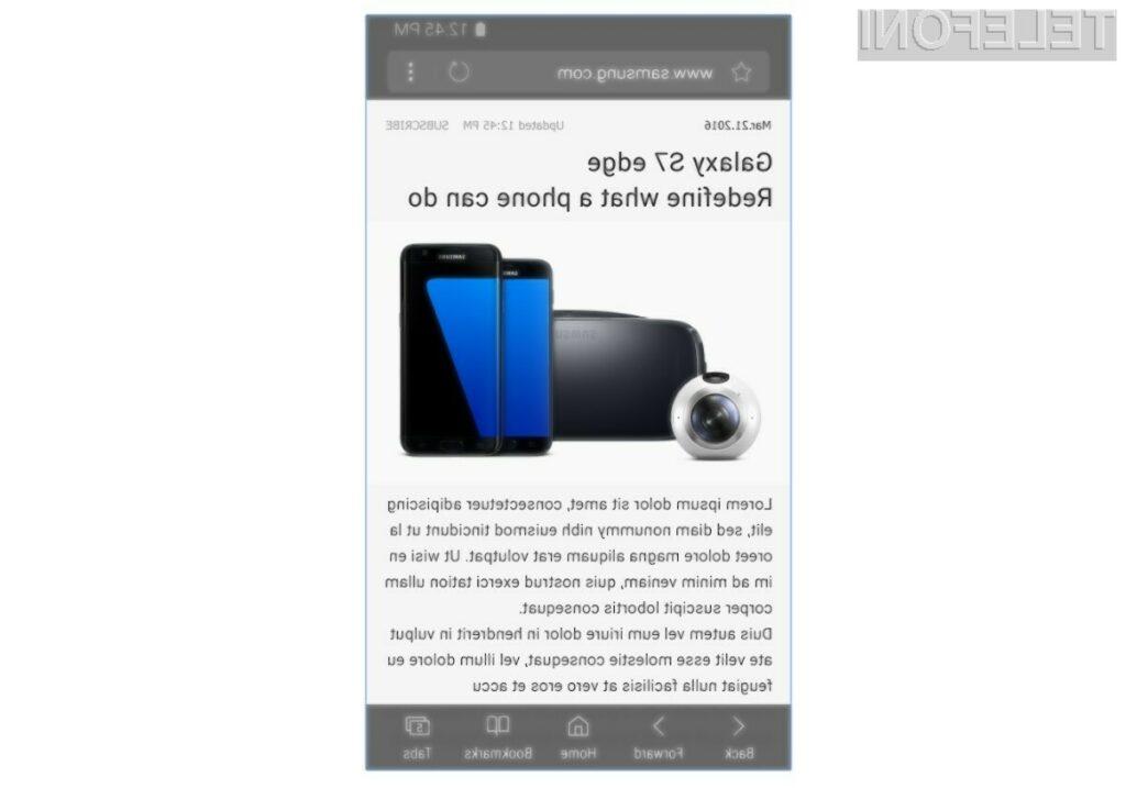 Mobilni brskalnik Samsung Internet delo opravlja z odliko!