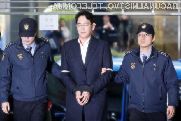 Podpredsednik Samsunga obsojen na zaporno kazen