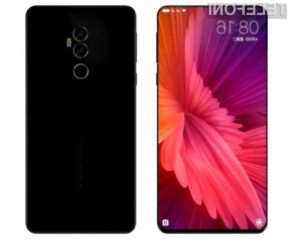 Bo Xiaomi prehitel Apple z impresivnim telefonom Mi Mix 2?