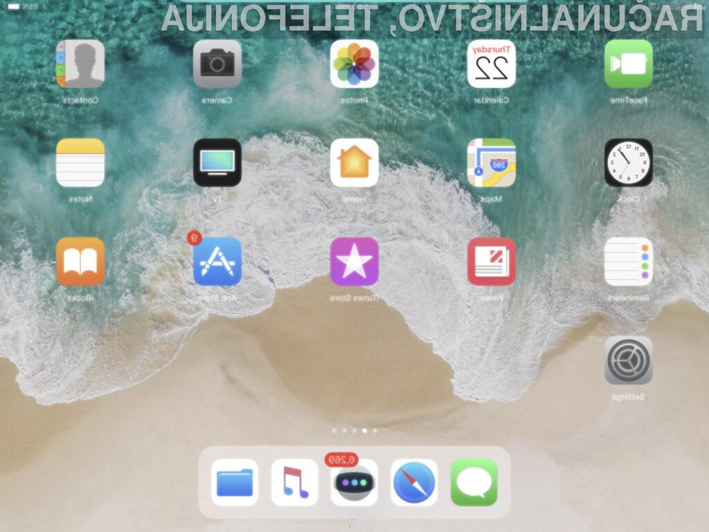 Uporabniki starejših Applovih mobilnih naprav žal ne bodo deležni nadgradnje na iOS 11!