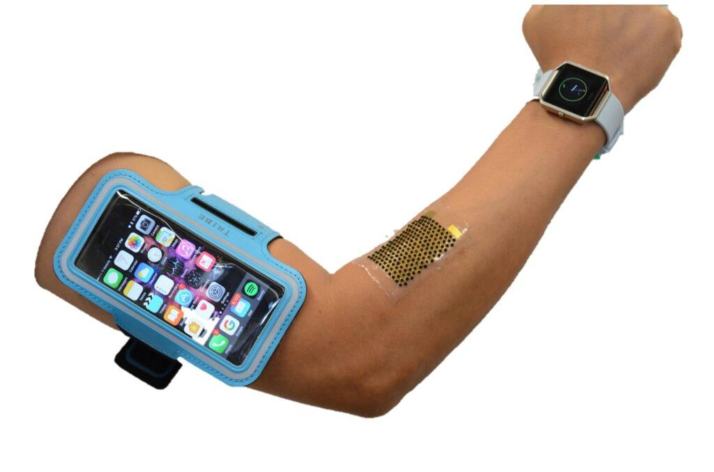 Mobilne naprave bi lahko kmalu polnili kar med vadbo