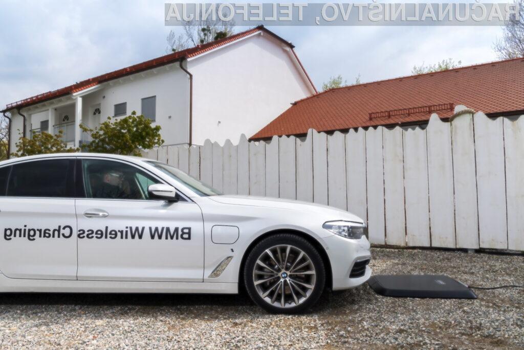 Brezžično polnjenje za električna vozila?