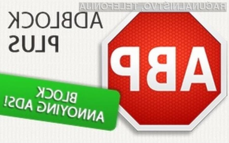 Novi Adblock Plus vas bo obvaroval pred prikritim rudarjenjem