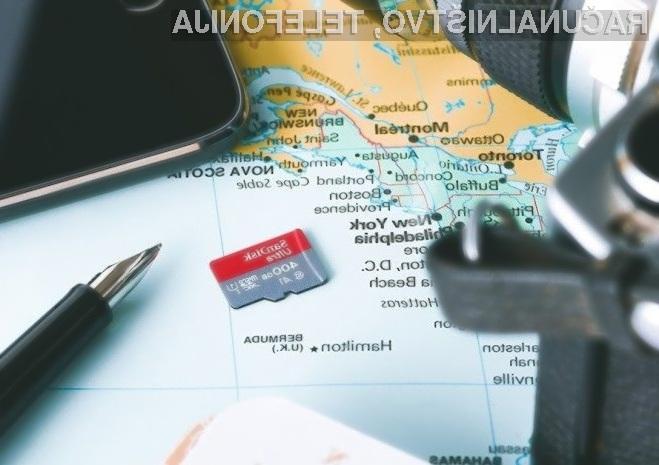 Zmogljiva pomnilniška kartica SanDisk kapacitete 400 GB je že na voljo v prodaji!