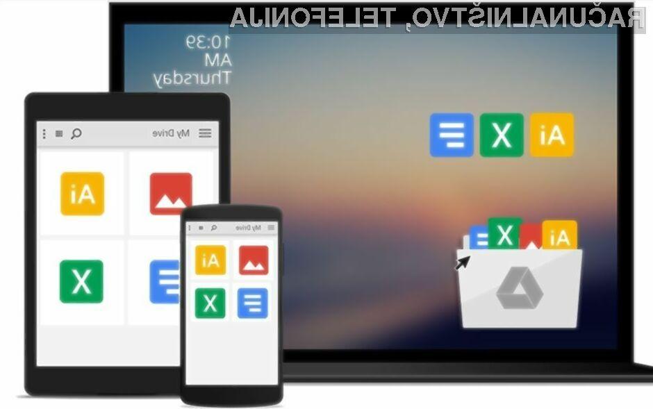Namizna aplikacija Google Drive bo kmalu postala neuporabna