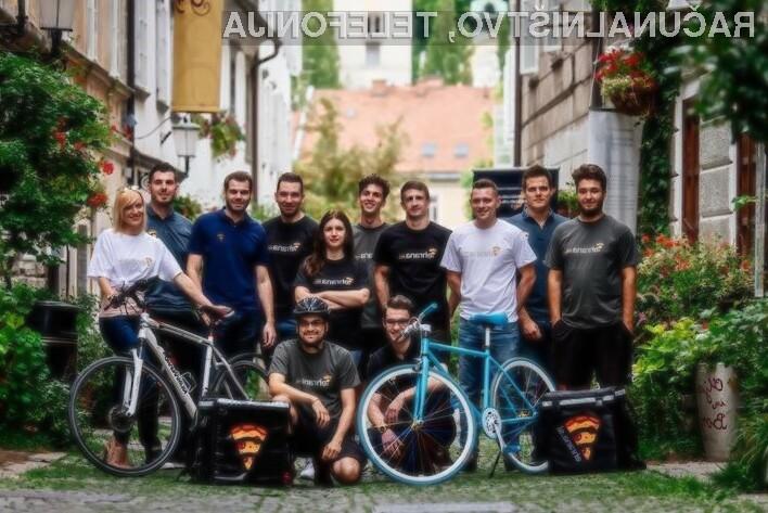 Slovenski Uber za dostavo hrane